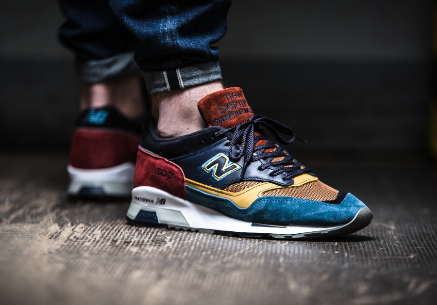 Chaussure New Balance M1500YP Yard Pack Multicolor (made in England) (2)