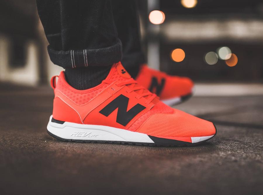 new balance 247 homme orange