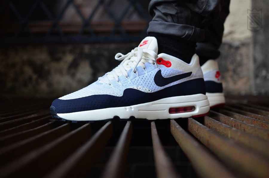Chaussure Nike Air Max 1 Ultra 2.0 Flyknit OG Obsidian 87 (homme) (4)