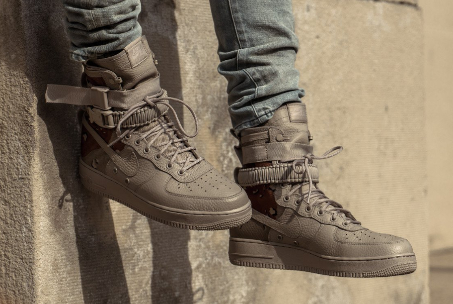 Chaussure Nike Special Field Air Force 1 SF AF1 Desert Sand Camo (3)