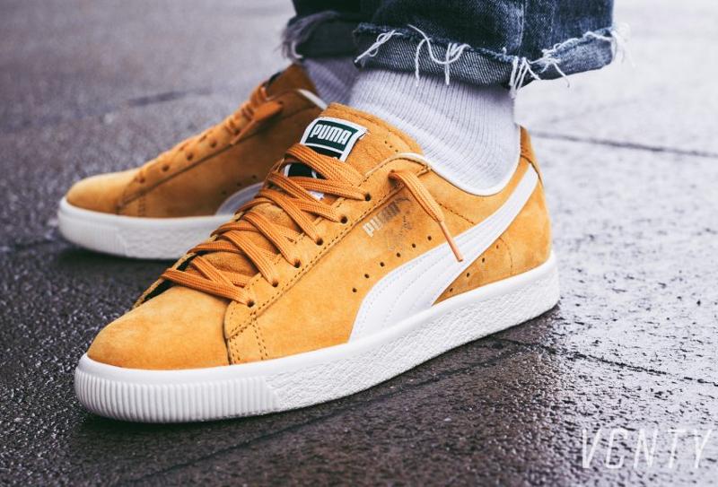 Chaussure-Puma-Clyde-Premium-Core-Artisan-Gold-daim-jaune-4