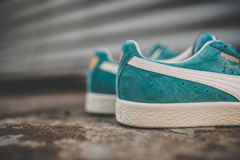 Chaussure Puma Clyde Premium Core Harbor Blue (3)