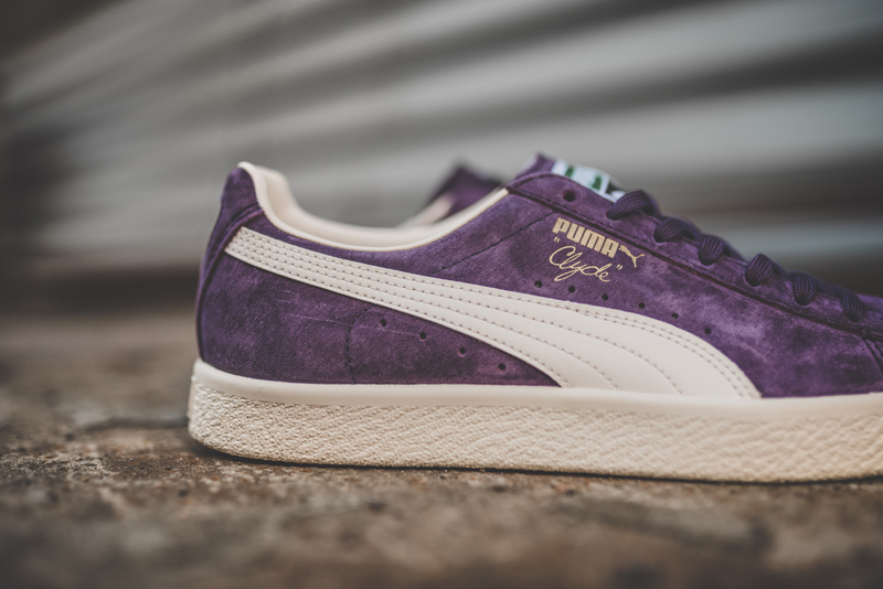 Chaussure Puma Clyde Premium Core Sweet Grape (daim violet) (1)