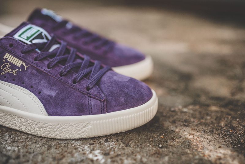 Chaussure Puma Clyde Premium Core Sweet Grape (daim violet) (2)