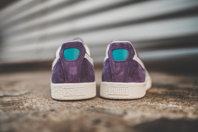 Chaussure Puma Clyde Premium Core Sweet Grape (daim violet) (3)