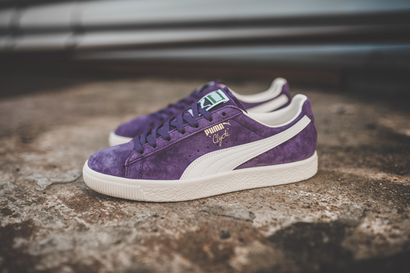 Chaussure Puma Clyde Premium Core Sweet Grape (daim violet) (4)