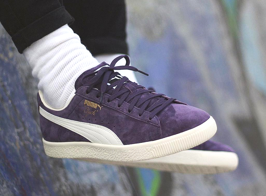 Puma Clyde Premium Core Sweet Grape (daim violet)