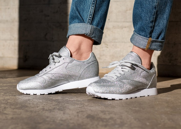 Reebok Wmns Classic Leather Diamond SYN 'Silver Metallic'