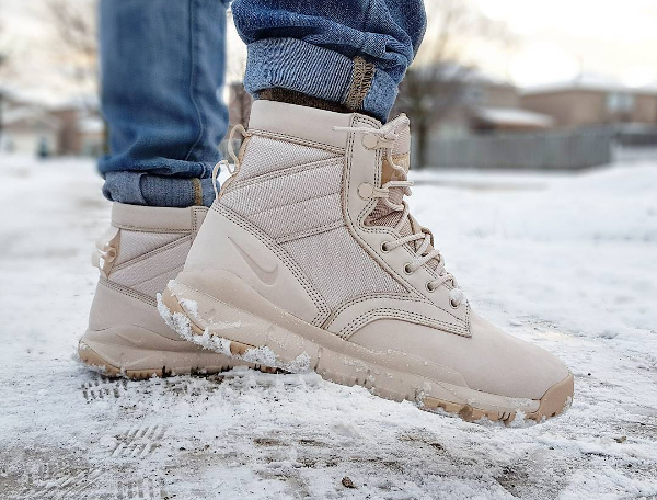 Nike 6 SFB NSW Leather Oatmeal Linen - @flippinlaces