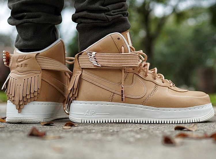 Nike Air Force 1 High SL Vachetta Tan - @purz75