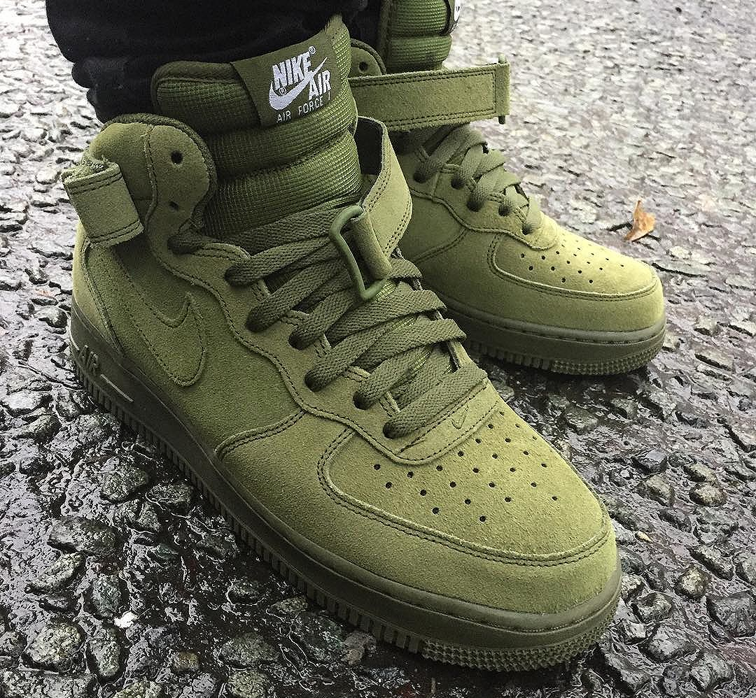 Nike Air Force 1 Mid Legion Green - @sneakerish (1)