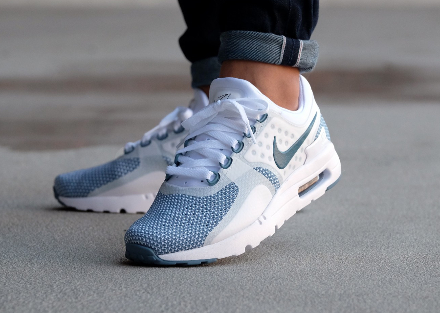 finest selection 571f1 72512 ... Nike Air Max Zero Essential Smokey Blue bleu fumee homme