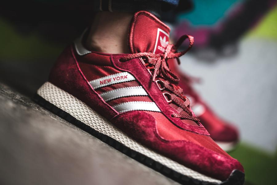 Adidas Originals New York 'Mystery Red'
