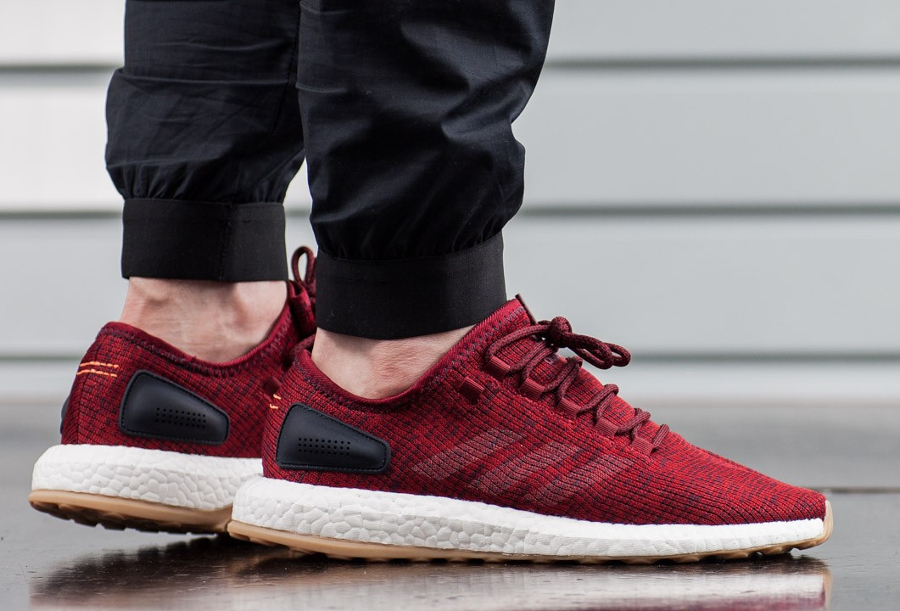 Basket Adidas Pure Boost 2.0 Collegiate Burgundy (1)