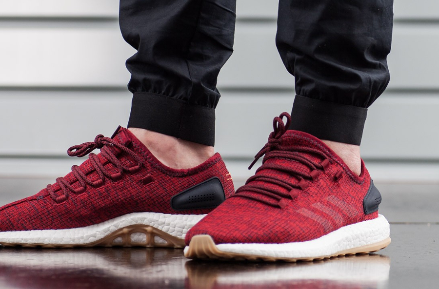 Basket Adidas Pure Boost 2.0 Collegiate Burgundy (2)