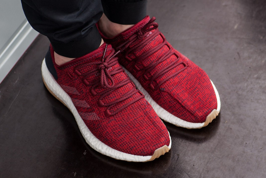 Basket Adidas Pure Boost 2.0 Collegiate Burgundy (4)