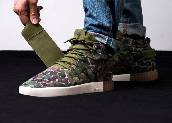 Adidas Tubular Invader Strap 'Camouflage'
