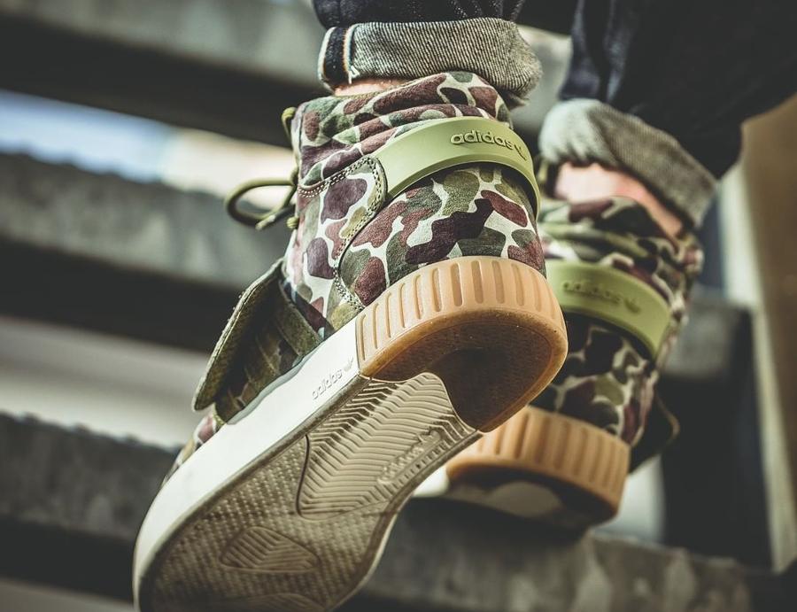 Adidas Rørformet Inntrenger Stropp Grønn Camo V9rPQ