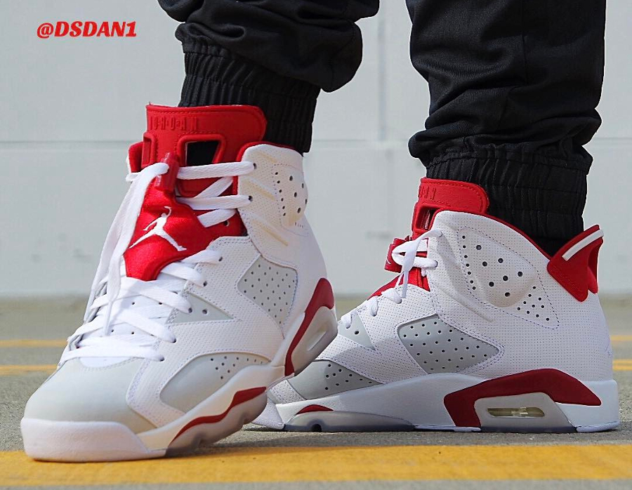 Basket Air Jordan 6 Retro Alternate (2)