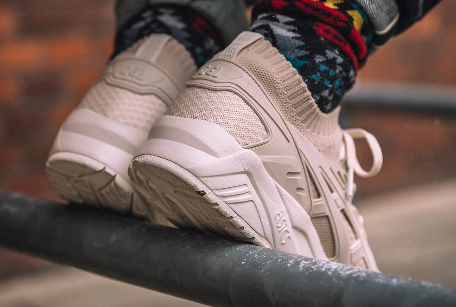 Basket Asics Gel Kayano Trainer Knit Birch (3)