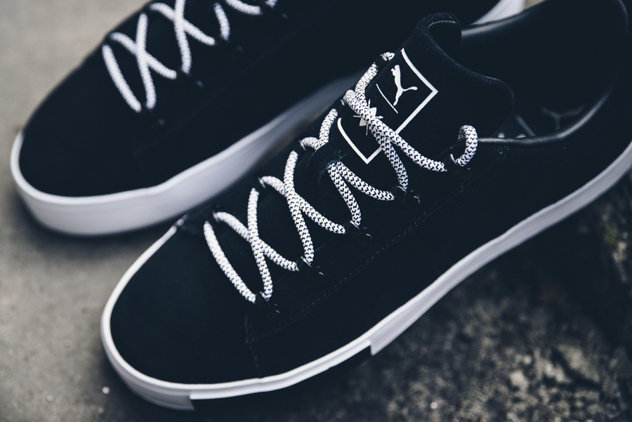 Basket Daily Paper x Puma Court Platform Black (2)