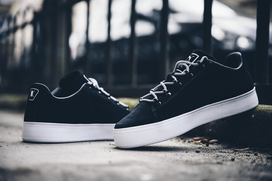 Basket Daily Paper x Puma Court Platform Black (3)