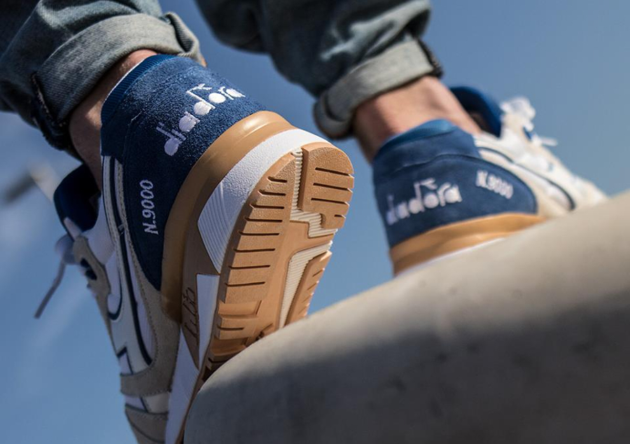 Diadora N9000 III 'White Princess Blue'
