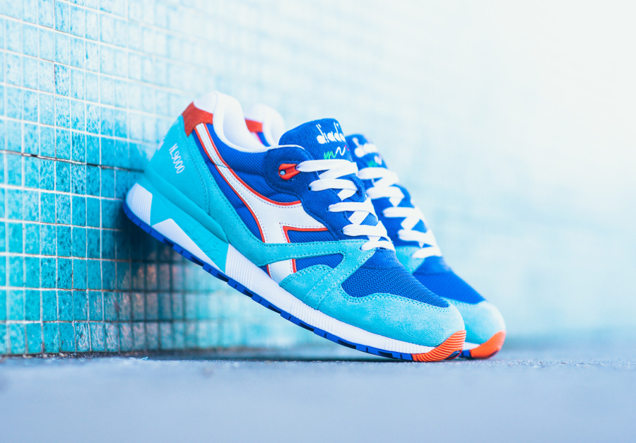 Basket Diadora N9000 Princess Blue (1)