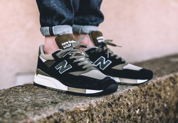Basket New Balance 998 CTR Black Green (2)