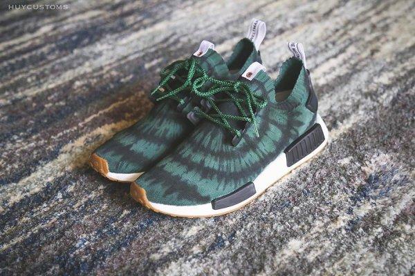 Basket Nice Kicks x Adidas NMD R1 Primeknit Olive (1)