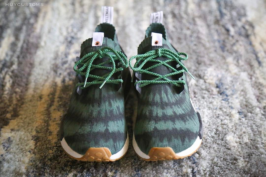 brand new 7e45a bb468 Nice Kicks x Adidas NMD R1 PK 'Olive Tye Die'