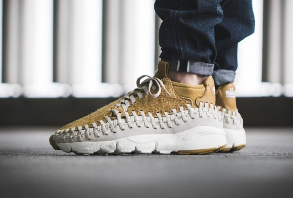 Basket Nike Air Footscape Woven Chukka Flat Gold (quickstrike) (1)