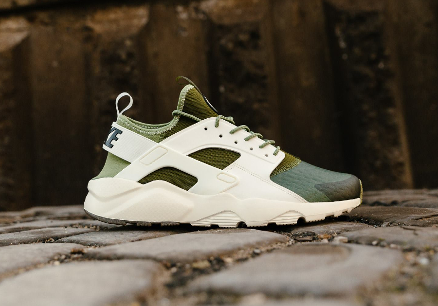 Basket Nike Air Huarache Ultra SE Palm Green vert (2)
