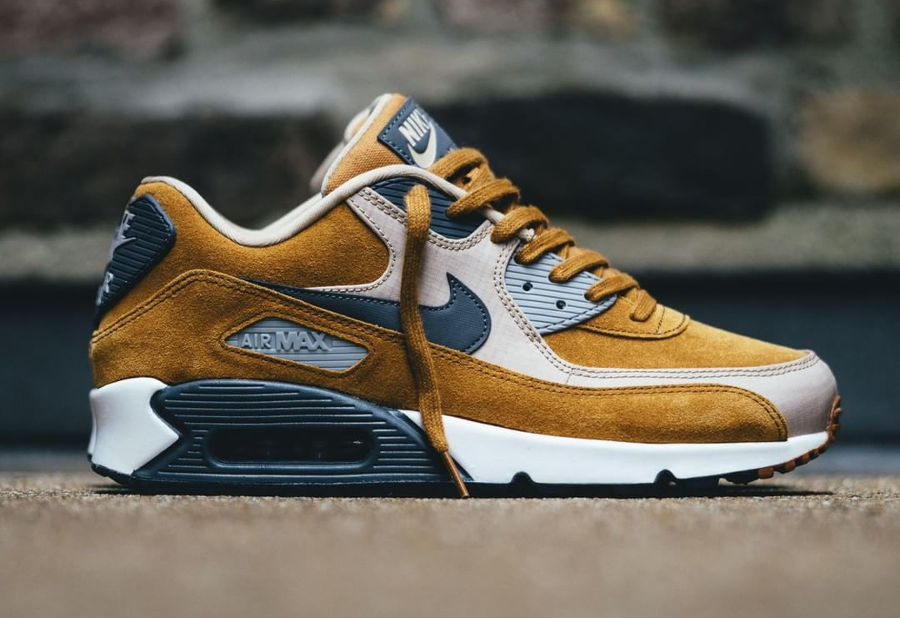 air max 90 hommes marron