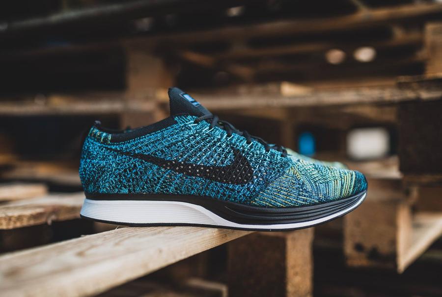 Nike Flyknit Racer 'Crew Blue'