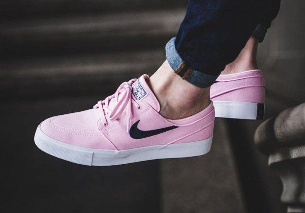 Basket Nike SB Janoski Prism Pink homme (1)