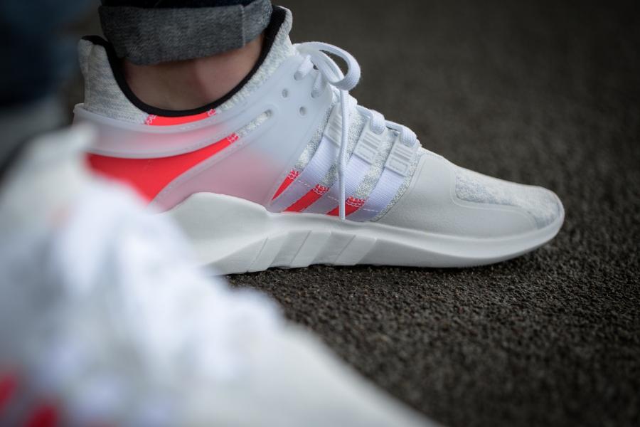 Adidas EQT Support ADV & 93/17 'White Turbo' (blanche)
