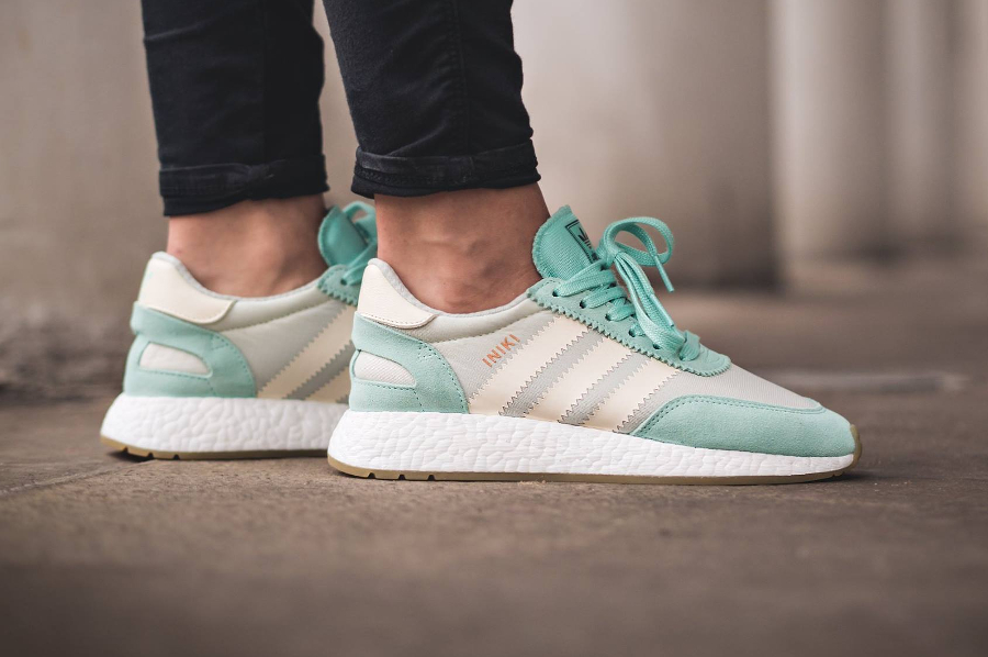 Chaussure Adidas Iniki Runner W Mint Easy Green (femme) (1)