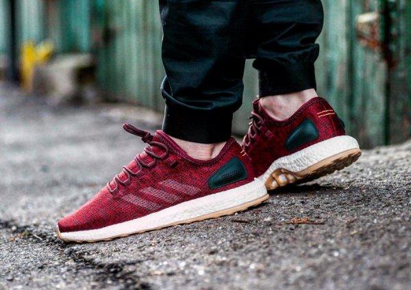 Adidas Pure Boost 2.0 'Collegiate Burgundy'