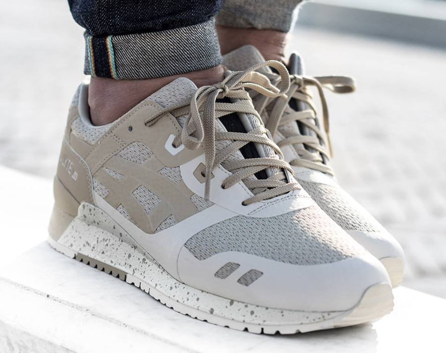Chaussure Asics Gel Lyte 3 No Sew NS Birch Latte (beige)