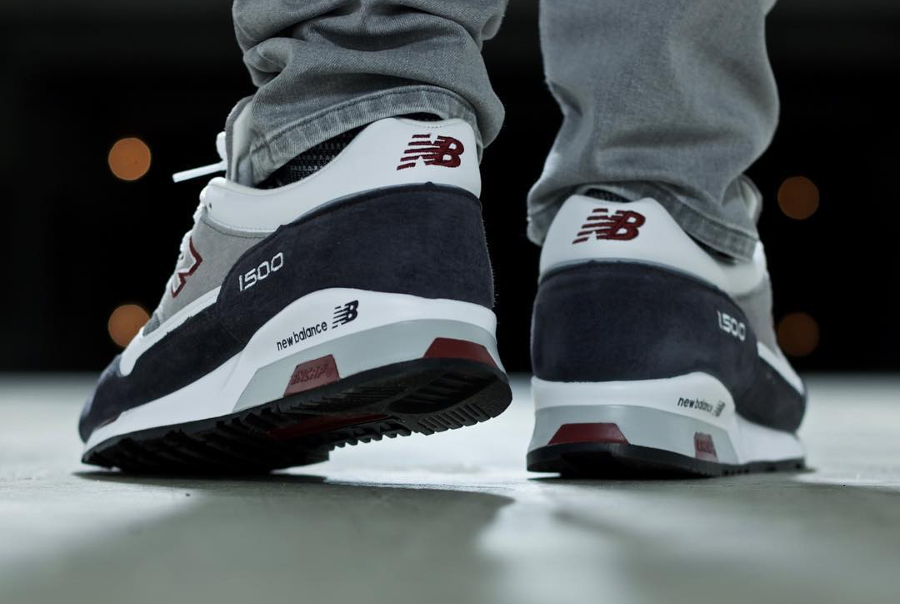 Chaussure New Balance M1500GRW Grey White (Made in England) (3)