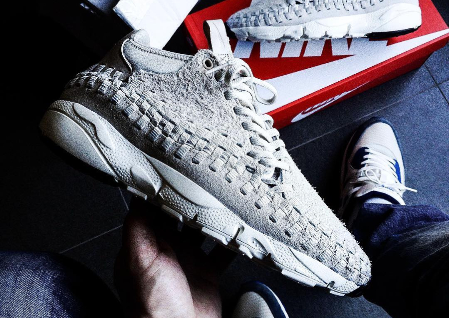 Nike Air Footscape Woven Chukka QS 'Light Bone' Hairy Suede