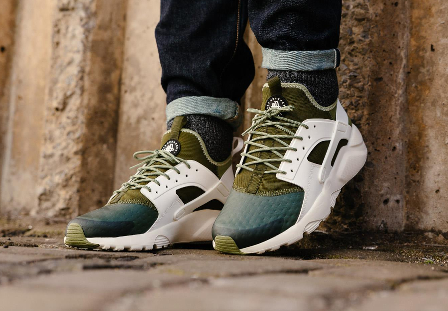 Chaussure Nike Air Huarache Ultra Run SE Palm Green (homme) (2)