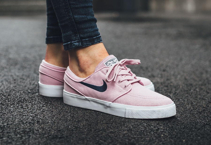 Chaussure Nike SB Zoom Stefan Janoski Canvas Rose Prism Pink (1)