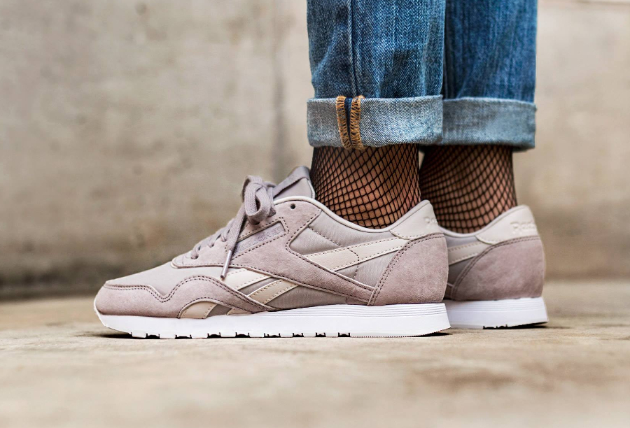 Chaussure Reebok CL Classic Nylon Face Stockholm Intuition