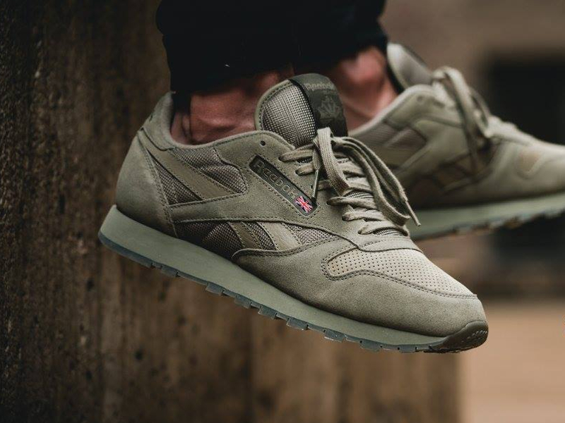 Reebok Classic Leather SM 'Khaki'