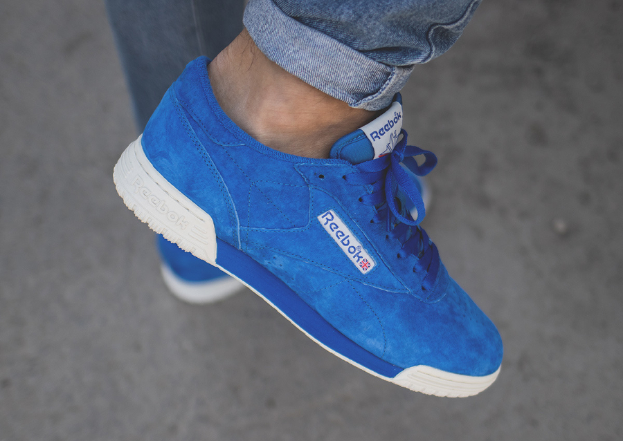 Chaussure Reebok Exofit Lo Clean Vintage Awesome Blue