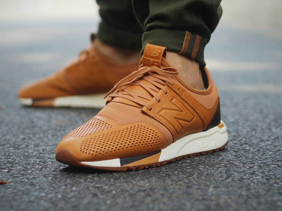 Le pack New Balance 247 Revlite 'Luxe Leather'