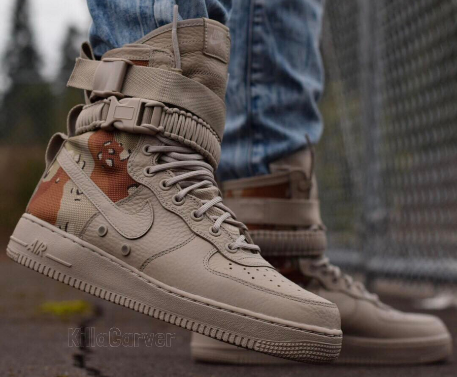 Nike Air Force 1 SF AF1 Desert Camo - @killacarver