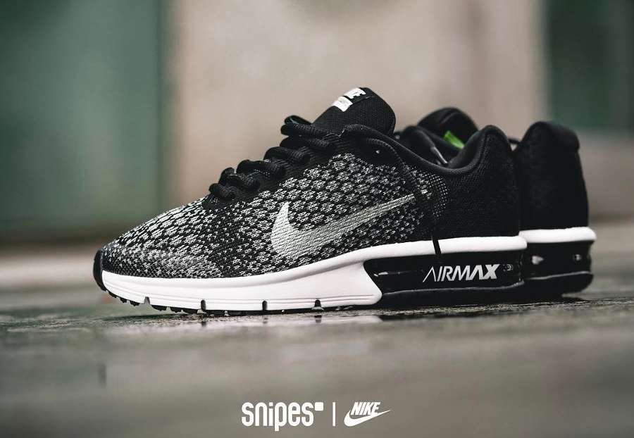 Nike Air Max Sequent 2 Black Volt (femme et enfant)